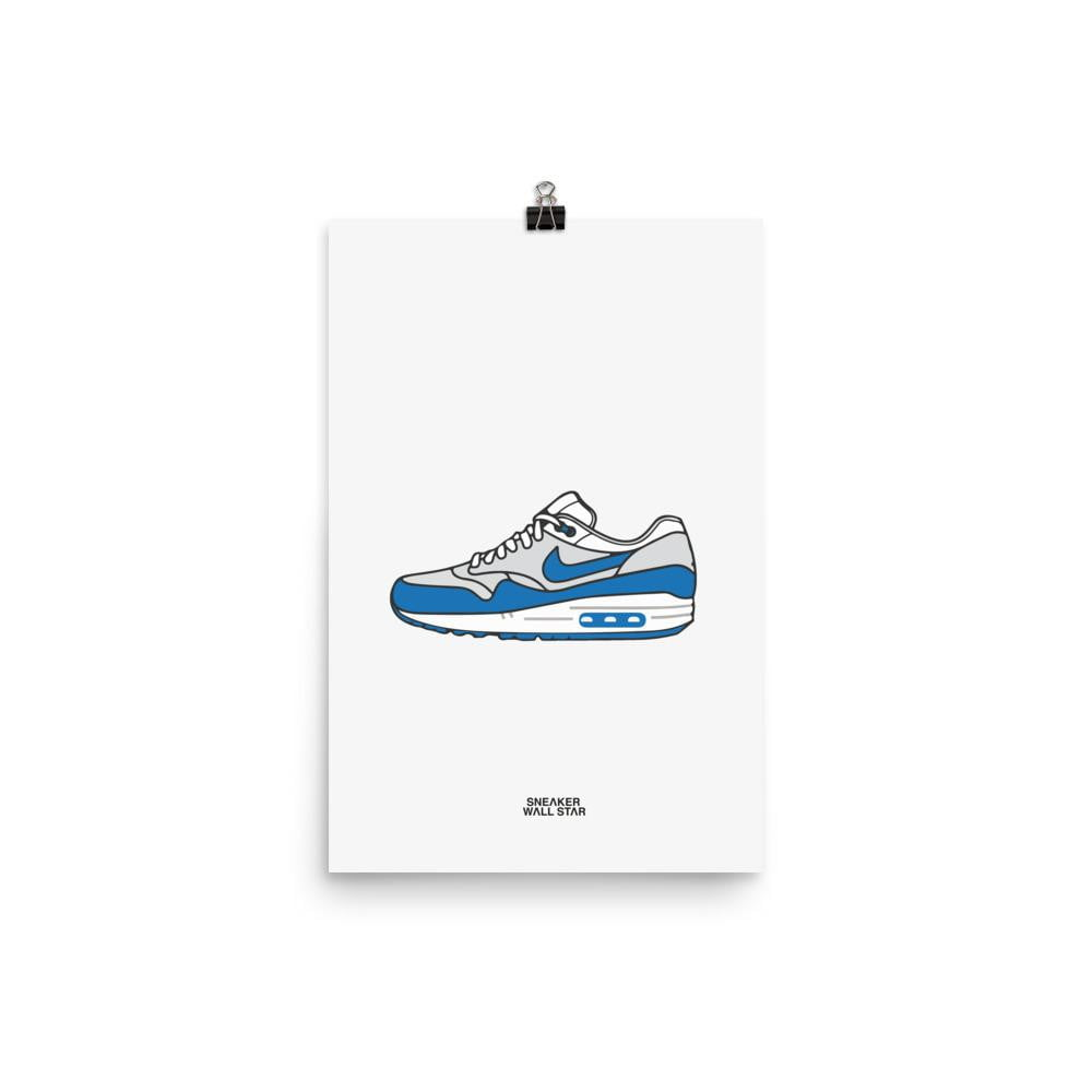 competitive price 23211 329c8 ... OG Blue · Charger l  39 image dans la galerie, Poster Air Max 1 ...