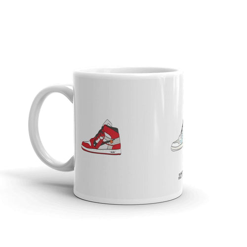 Mug Air Jordan 1 x Off White RotationSneakers Wall Star- accessoires sneakers addict