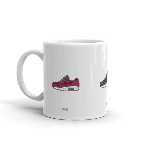 Mug Air Max 1 CollectionSneakers Wall Star- accessoires sneakers addict