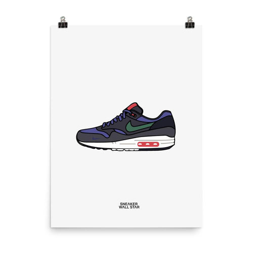 Poster Air Max 1 Patta 5th Anniv Denim
