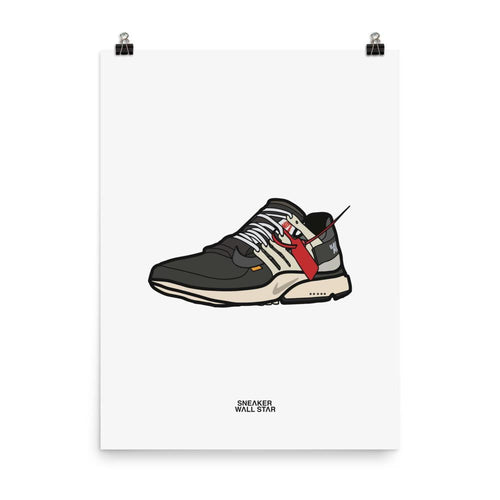 Poster Nike Air Presto OGSneakers Wall Star- accessoires sneakers addict
