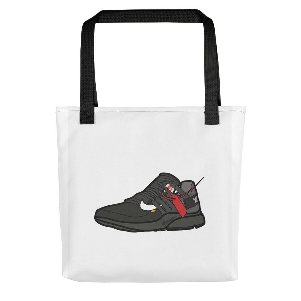 Tote bag Air Presto Off White BlackSneakers Wall Star- accessoires sneakers addict