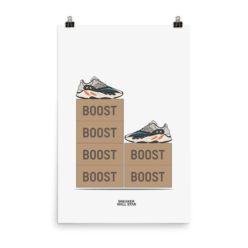 Poster Adidas Yeezy Boost 700 OG