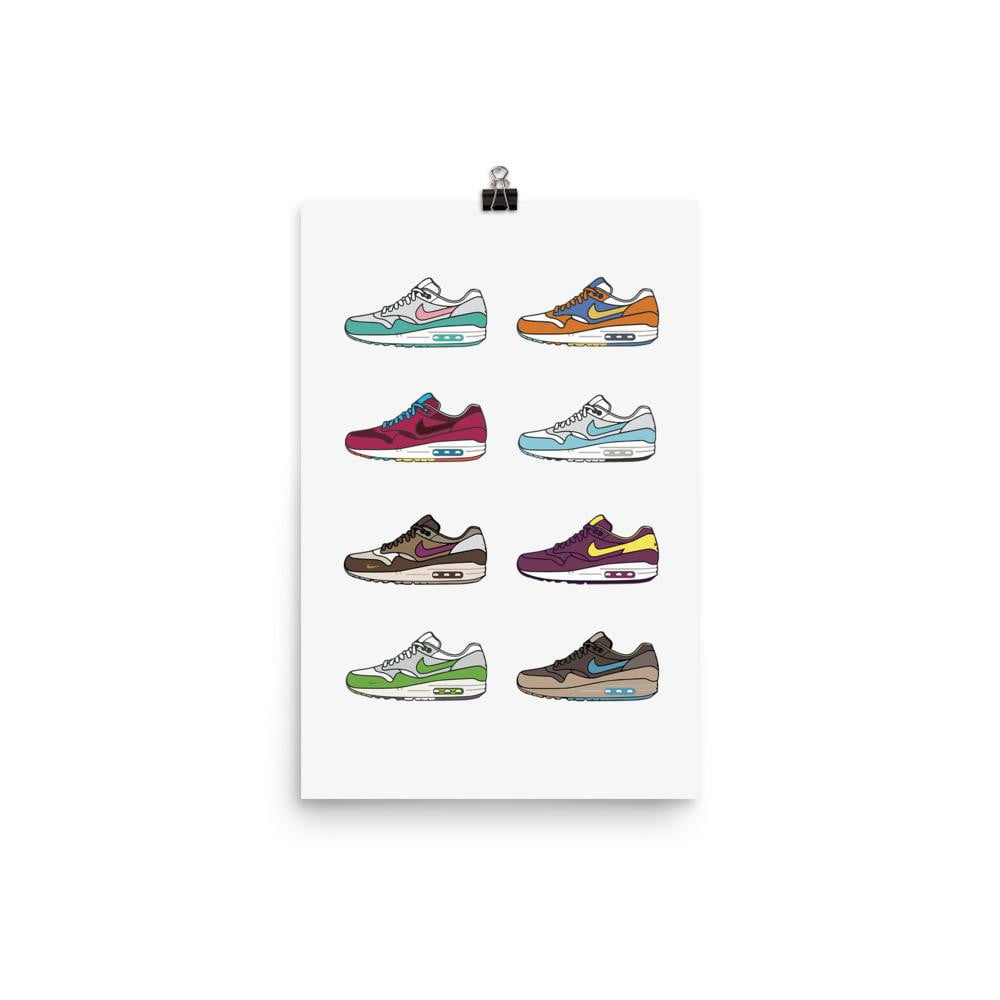 Poster Air Max 1 Collection
