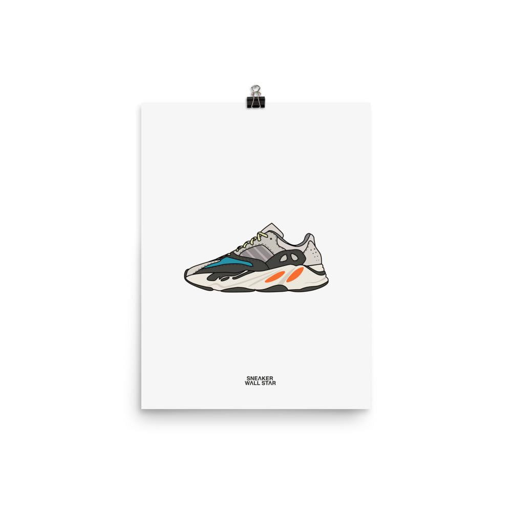 Poster Yeezy 700 Wave RunnerSneakers Wall Star- accessoires sneakers addict