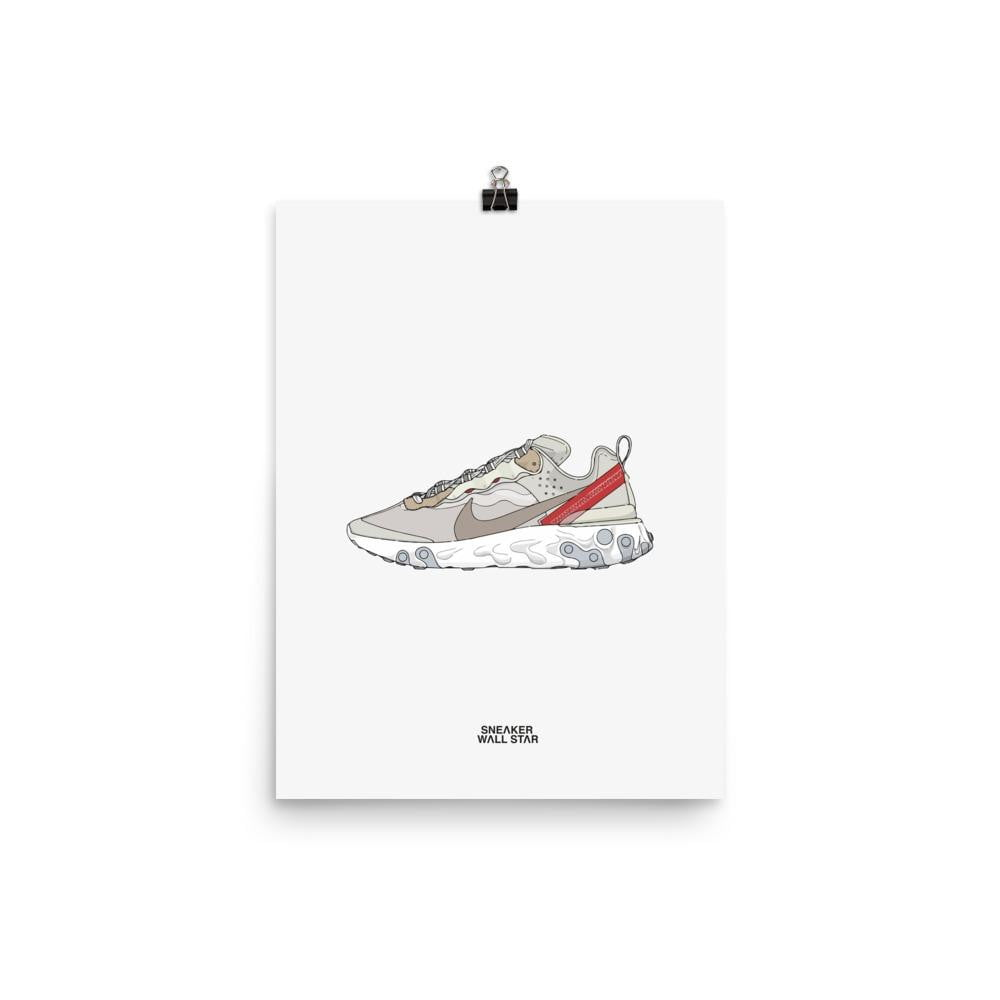 Poster Nike React Element 87 - Sail