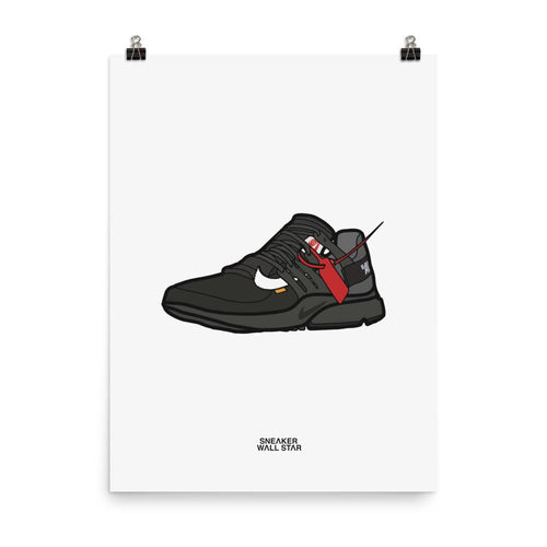 Poster Nike Air Presto Off WhiteSneakers Wall Star- accessoires sneakers addict