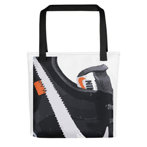 "Tote bag AF1 x OW ""Black""Sneakers Wall Star- accessoires sneakers addict"
