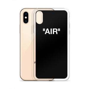 "iPhone Case ""AIR""Sneakers Wall Star- accessoires sneakers addict"