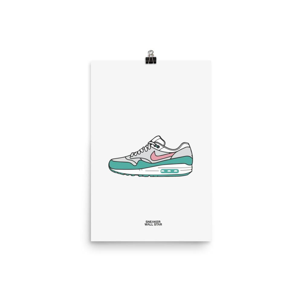 Poster Air Max 1 Watermelon