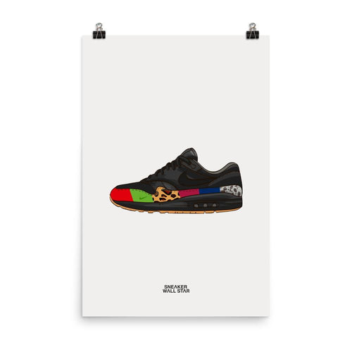 Poster Air Max 1 MasterSneakers Wall Star- accessoires sneakers addict