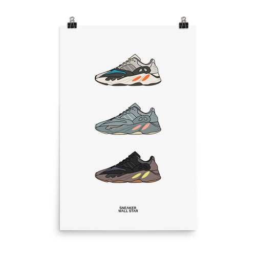 Poster Yeezy 700 rotation