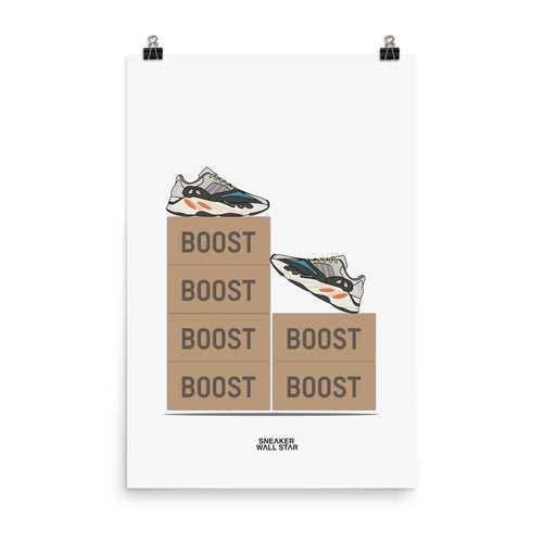 Poster Adidas Yeezy Boost 700 OG V2Sneakers Wall Star- accessoires sneakers addict