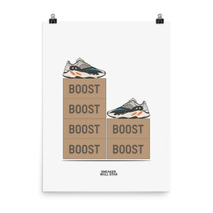Poster Adidas Yeezy Boost 700 OGSneakers Wall Star- accessoires sneakers addict