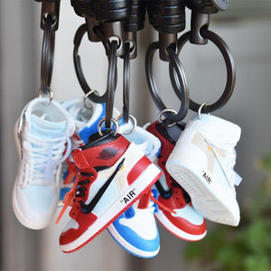 Porte-clé 3D Air Jordan 1 x Off WhiteSneakers Wall Star- accessoires sneakers addict