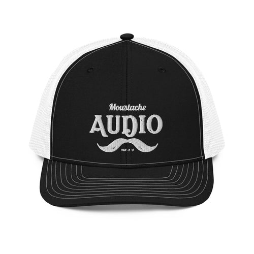 Moustache Audio Snapback Trucker Cap