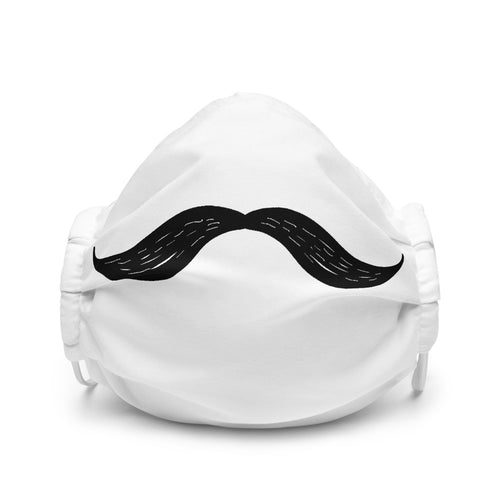 Moustache Audio Dapper Face Mask