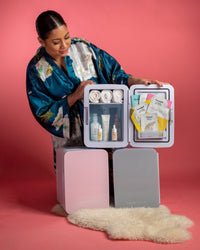 10L skincare, makeup, beauty mini fridge. Free shipping in USA & Canada.