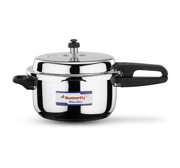 Butterfly Blue Line Stainless Steel Pressure Cooker, 2 Litres