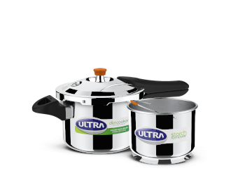 Ultra Diet Stainless Steel Pressure Cooker, 3 Litres