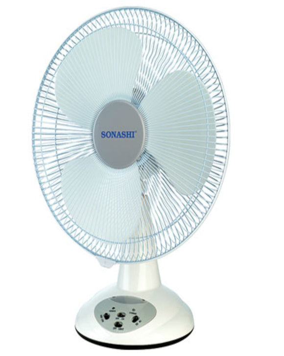Sonashi SRF-014 Table Fan 350MM (RECHARGABLE)