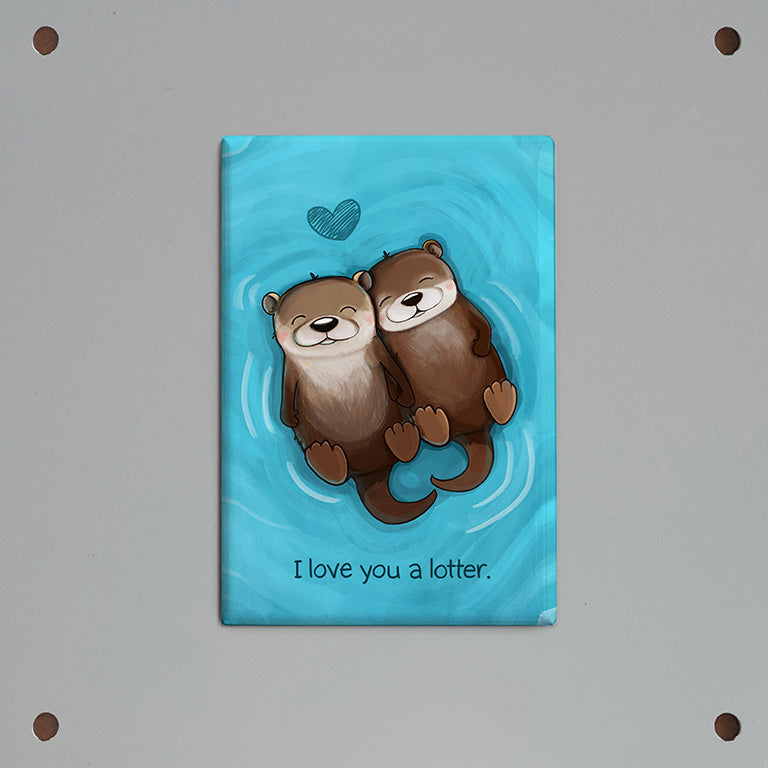 I Love You a Lotter Magnet (2