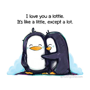 Love a Lottle - Art Print