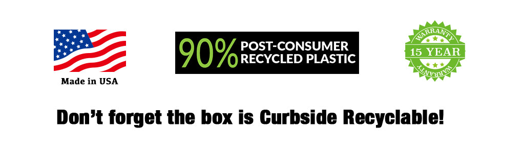 Don't forget the box is Curbside Recyclable!