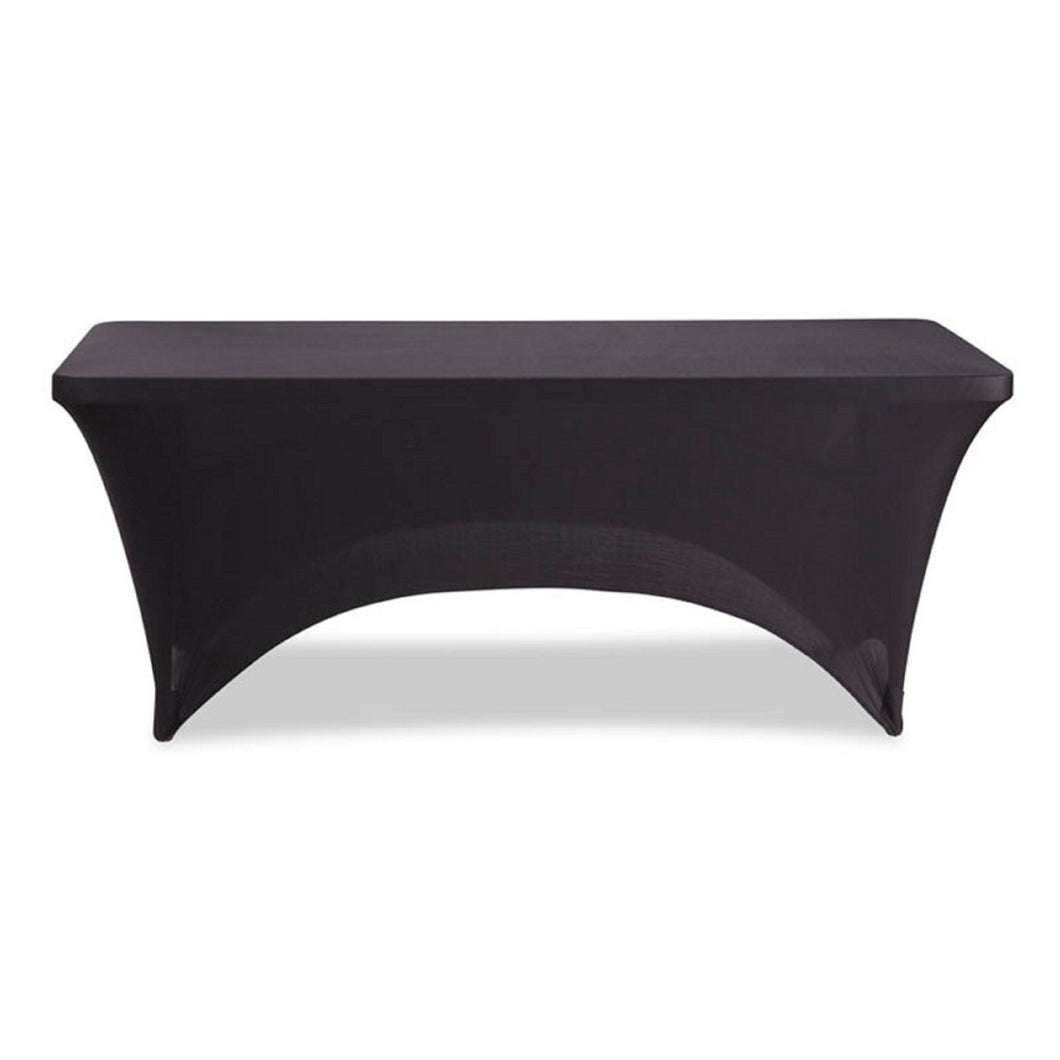 Stretch Fabric Table Cover, 8ft. Table, 3 Colors