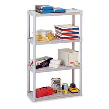 Rough 'N Ready 4-Shelf Open Storage Unit, 3 Colors