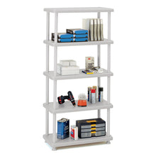 Rough n Ready® 5-Shelf Open Storage Unit, 2 Colors