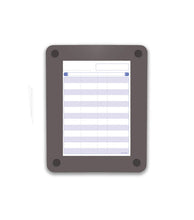 Clarity Glass Custom Print Dry Erase Board, 4 sizes