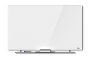Clarity™ Glass Cinema Magnetic White Board, 4 sizes