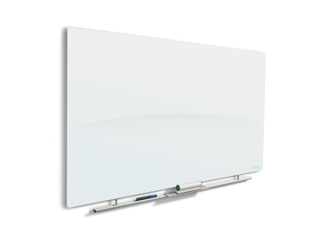 Clarity Magnetic Glass Dry Erase Board, 36