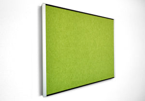"iDesign™ Series Beveled Edge Felt Bulletin Board,  24""x 38"",  4 Colors"