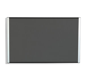 "iDesign™ Series Beveled Edge Magnetic and Tack-able Bulletin Board,  24""x 38"", 2 Colors."