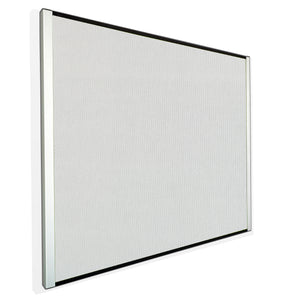 "Perforated Steel Magnetic and Tackable Bulletin Board,  24""x38"", 2 Colors."