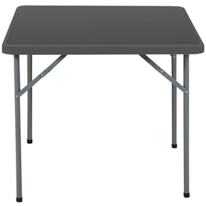 "IndestrucTable® Classic Folding Card Table, 34"" Square, 2 Colors"