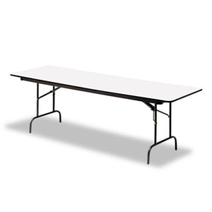"OfficeWorks™ Commercial Wood Laminate Folding Table, 30""x 72"", 3 finishes"