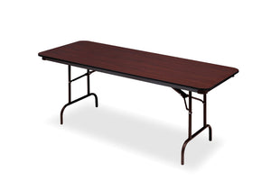 "OfficeWorks™ Commercial Wood Laminate Folding Table, 30""x 96"", 3 Finishes"