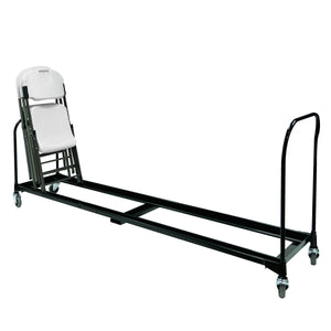 Folding Chair Cart,   34-Chair Capacity, 8'