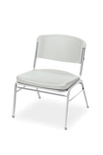 Rough N' Ready™ Big & Tall Stack Chair, 4-Pack, 3 Colors with Silver Frame