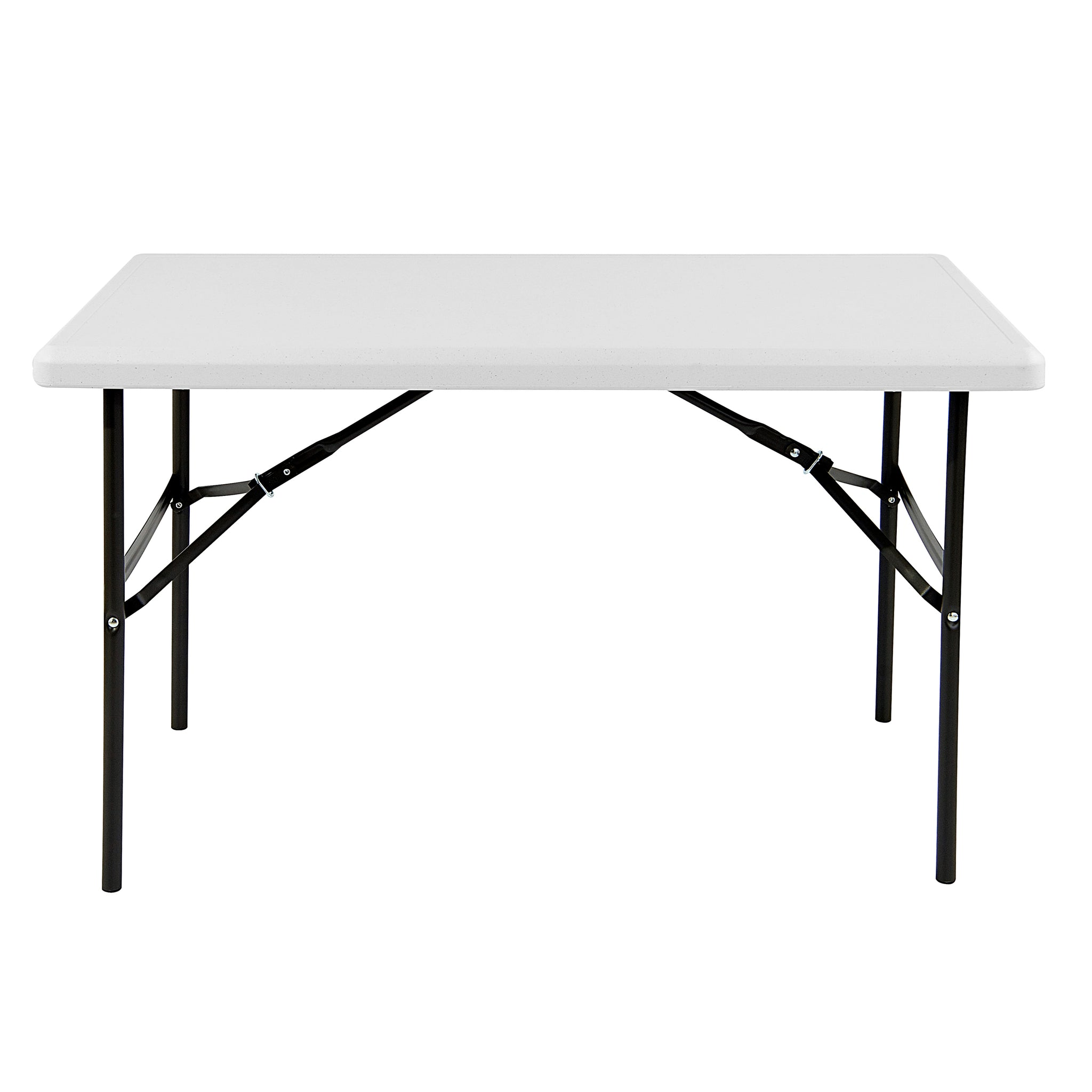 indestructable too folding table 24 x 48 2 colors iceberg