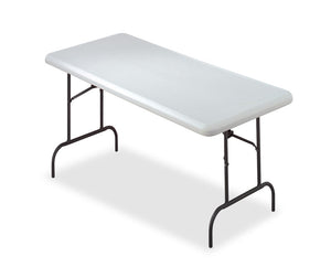"IndestrucTable® Industrial Folding Table, 30""x 60"" , 2 Colors"