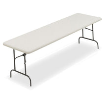 "IndestrucTable TOO Commercial Grade Folding Table, 30""x96"", 2 Colors"