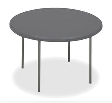 "IndestrucTable TOO™ Folding Table, 48"" Round, 2 Colors"