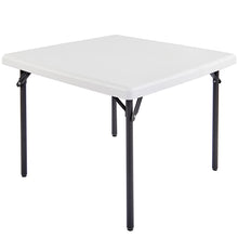 "IndestrucTable TOO™ Folding Table, 37"" Square, 2 Colors"