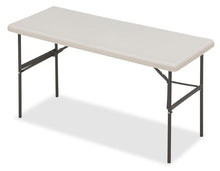 "IndestrucTable TOO™ Training Folding Table, 24""x 60"", 2 Colors"