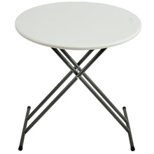 "Personal Folding Table, 24"" Round, 2 Colors"