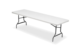 IndestrucTable TOO™ Banquet Series Folding Table, Platinum, 3 lengths.